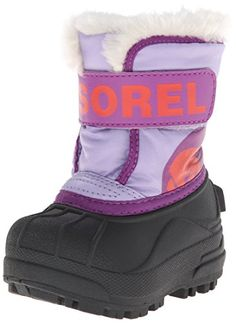 nice Sorel Snow Commander Snow Boot (Little Kid/Big Kid)