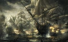 Pirate Ship Battle