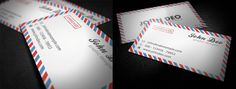 Envelope Business Card - Business Cards - Creattica