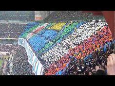 Coreografia e cori Curva Nord Milano Inter vs Juve 30/03/2013