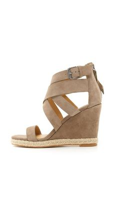 Kova Wedge Sandals @shopdolcevita