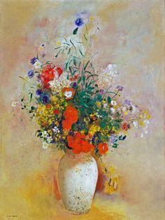Odilon Redon - Vase of flowers 1906
