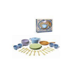 Green Toys Cookware and Dinnerware Set - 27 Piece Set from Deal's Unlimited for $44.99 on Square Market #greentoys #holidayshopping #giftideas