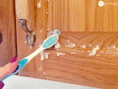 Kitchen Cabinet Gunk Remover