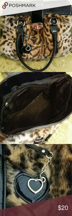 BEBE Gorgeous Handbag Awesome condition BEBE purse 15X20 clean inside gorgeous fall animal print bebe Bags Shoulder Bags