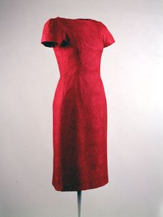 Bergdorff Goodman dress worn by Jacqueline Kennedy at White House Christmas reception