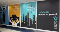 Ads for IBM in the Chicago airport by Noma Bar. * Buy Noma Bar's books at Barnes and Noble . Noma Bar, Chicago Airport, Dutch Uncle, Ogilvy Mather, Space Illustration, Illustrations, Bar Image, Out Of This World, Ibm
