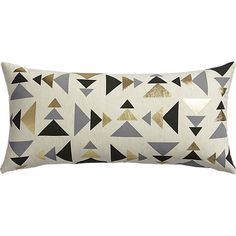 "blaney 23""x11"" pillow with down-alternative insert"