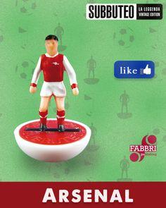 Arsenal #subbuteo #calciodatavolo