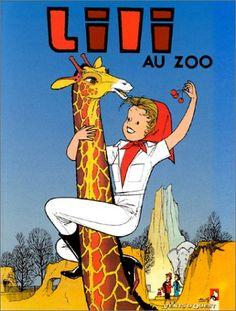 L'Espiègle Lili, tome 8 : Lili au zoo de Paulette Blonay - oct