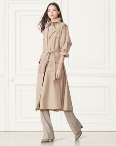 Vanessa Trench Coat - Collection Apparel Outerwear - RalphLauren.com