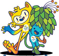 Olympic and Paralympic Mascots Vote for Vinicius and Tom! Only 3 days left to vote. Click through and vote everyday!