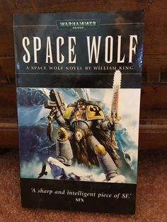 SPACE WOLF William King Black Library Warhammer 40,000 novel Games Workshop 2003
