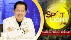 Watch another episode of Pastor Apollo C. Quiboloy's newest program, SPOTLIGHT. For your messages and queries, you can comment it down below so our Beloved P. Kingdom Of Heaven, T Lights, New Program, Son Of God, Apollo, Spotlight, January, Spirituality, Lord
