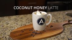 I was inspired by this coconut honey latte at a coffee shop, but it had too many ingredients so, I decided to make my own version the Simpleigh way. New Recipes, Baking Recipes, Vegetarian Recipes, Dinner Recipes, Coffee Love, Coffee Shop, Coffee Drinks, Latte, Breakfast Recipes