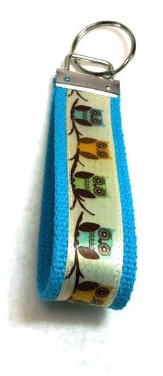 Hey, I found this really awesome Etsy listing at http://www.etsy.com/listing/123555565/owls-on-branch-key-fob-wristlet-key-ring