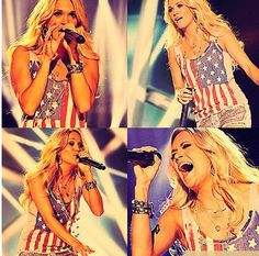 Carrie underwood - concert: C2C London 2013 and 2016