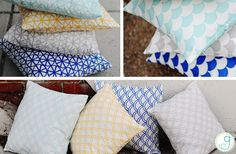 GroopDealz | Fun Printed Pillow Covers - 8 Styles
