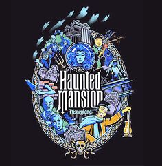"""✶ """"The Haunted Mansion""""  by Jeff Granito ★"""