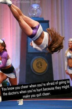 Cheer qoutes, cheerleading ve cheer stunts. Cheer Coaches, Cheer Stunts, Cheer Dance, Cheer Athletics, All Star Cheer, Cheer Mom, Cheer Hair, Cheer Qoutes, Cheer Sayings