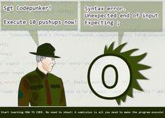 The CodePunker - Smile Computer Humor, Computer Science, Learning Web, Web Development, Jokes, Coding, Smile, Funny, Husky Jokes