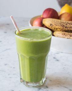 Green Coconut Smoothie   Deliciously Ella
