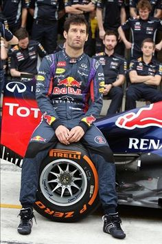 Mark Webber Infiniti Red Bull Racing