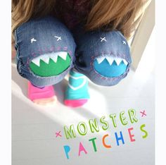 15 creative ways to patch pants - Nap-time Creations Sewing For Kids, Diy For Kids, Crafts For Kids, Sewing Hacks, Sewing Crafts, Sewing Projects, Diy Clothing, Sewing Clothes, Patch Pants