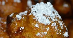 New Orleans Beignets recipe Doughnut Ball Recipe, New Orleans Beignets Recipe, Beignet Recipe, Banana Fritters, Cuisine Diverse, Dairy Free Eggs, Go For It, Yummy Food, Tasty