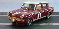Ford Anglia Broadspeed Saloon Slot Car by GTurner models Slot Car Racing, Slot Car Tracks, Slot Cars, Race Cars, Ford Motor Company, Scalextric Cars, Ford Anglia, Unique Cars, Car Ford