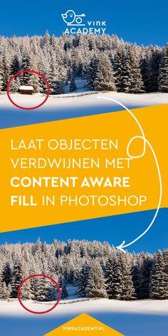 Content Aware Fill: Magische verdwijntruc in Photoshop Photoshop Tutorial, Photoshop Actions, Adobe Photoshop, Lightroom, Photoshop Photography, Photography Tips, Ps Tutorials, Beginner Art, Old Master