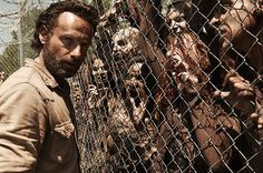 Rick's my favorite character. He is such a strong leader, his character often doubts that and it's what makes him so intriguing. The Walking Dead
