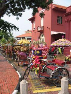 Melaka, Malaysia. A fun day.