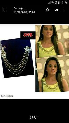 Women Jewelry, Fashion Jewelry, Women's Brooches, Woman Back, Latest Jewellery, Stone Work, Beautiful Blouses, Indian Fashion, 1 Piece