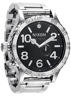 nixon 51-30 high polish - black