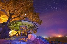 mines view (baguio city, philippines) startrails
