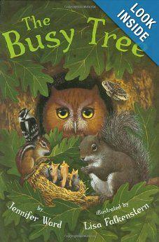 Busy Tree: Jennifer Ward, Lisa Falkenstern:   Science Unit on Trees