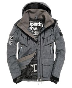 Discover our range of Superdry Winter Jackets & Coats. Superdry Jacket Men, Superdry Fashion, Tactical Clothing, Mens Jumpers, Cool Hoodies, Mens Clothing Styles, Men's Clothing, Jacket Style, Pulls