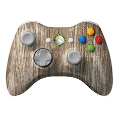 XBOX 360 controller Wireless Glossy WTP-131-Wood-Grain Custom Painted- Without Mods