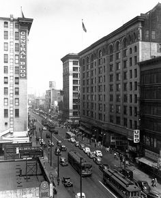 Pacific Electric Building in the 1940s