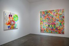 "Ryan McGinness ""Recent Paintings"" Exhibition @ Michael Kohn Gallery"