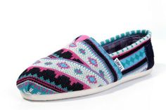 Toms jacquared shoes