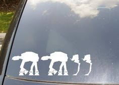 AT-AT family car stickers. Really the only ones I'd ever consider.