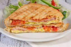 Panini Press Breakfast Sandwich