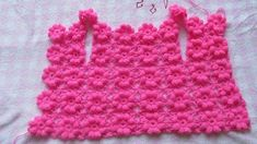 ergahandmade: Crochet puff flower Sweater + Diagrams + Free Pattern Step By Step