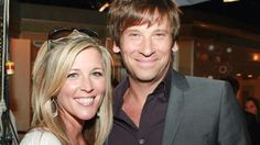 roger howarth and GH co-star laura wright 2012