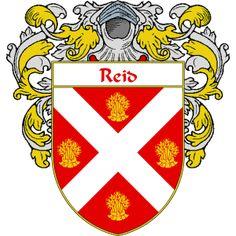 Reid Family Coat of Arms, Scotland (#1)