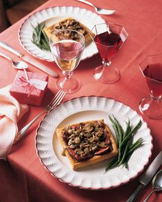 Make A Menu For Two  12 Photos Beef Wellington Tarts