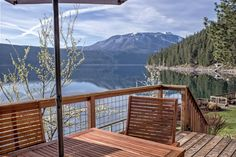 Queen`s Court | Wallowa Lake Rental Home | private home on Wallowa Lake with boat dock