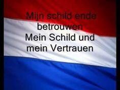 """Nederlands volkslied / Dutch anthem """"Wilhelmus van Nassaue"""" Vocaal Lyrics Dutch and German - YouTube"""